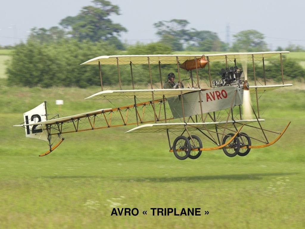 AVRO «TRIPLANE»