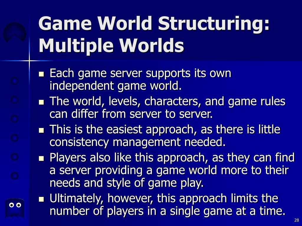 Game World Structuring: