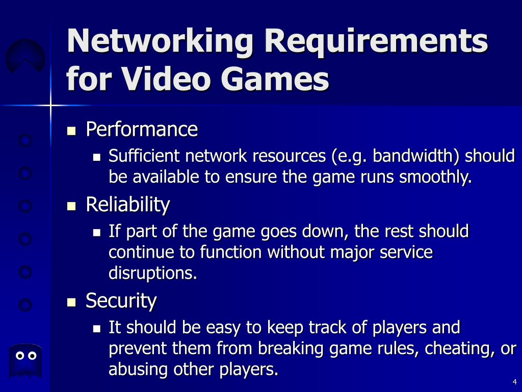 Networking Requirements