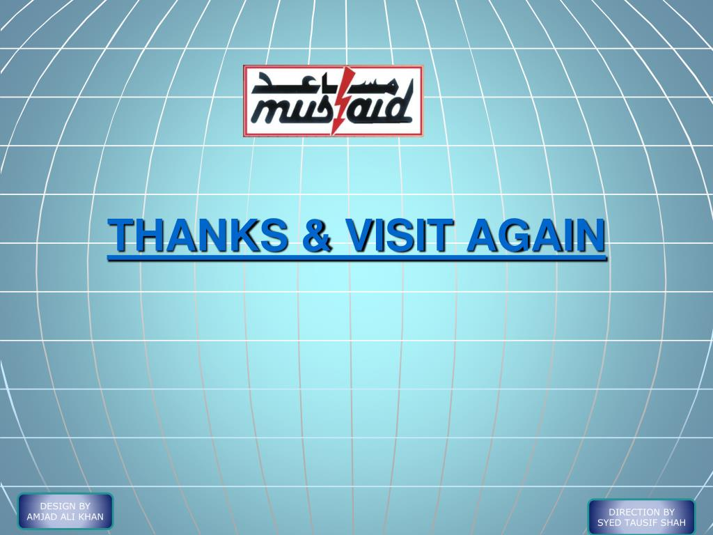 THANKS & VISIT AGAIN