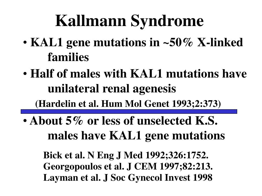 Kallmann Syndrome