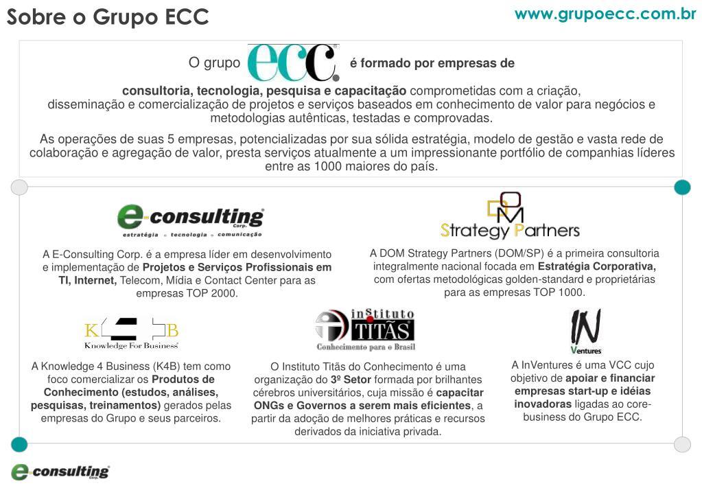 Sobre o Grupo ECC