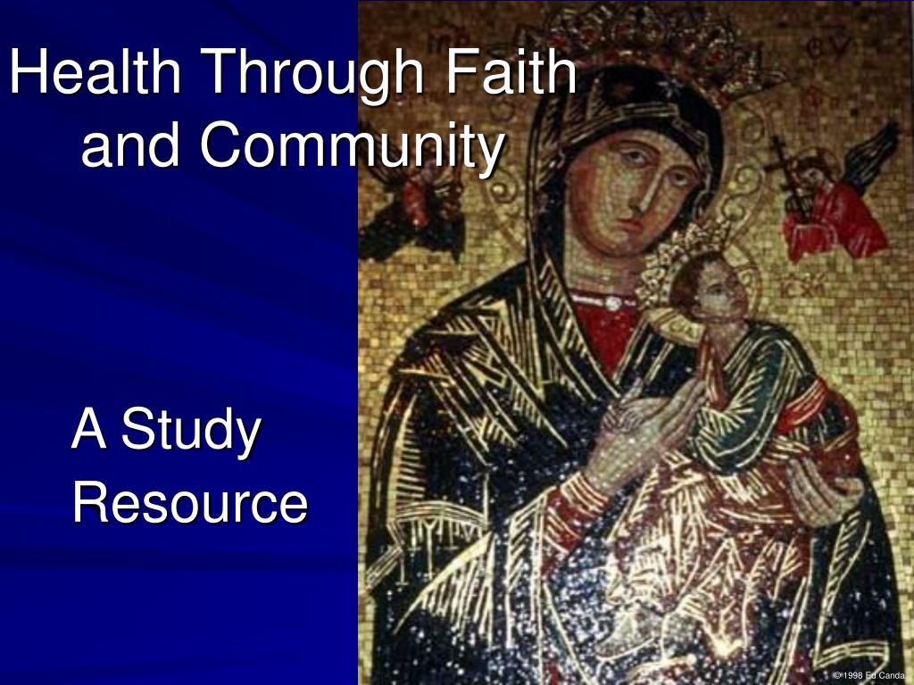 Health Through Faith
