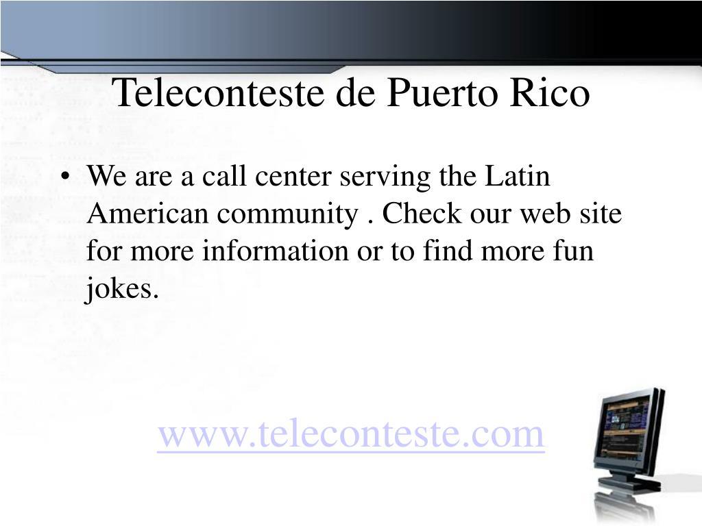 Teleconteste de Puerto Rico