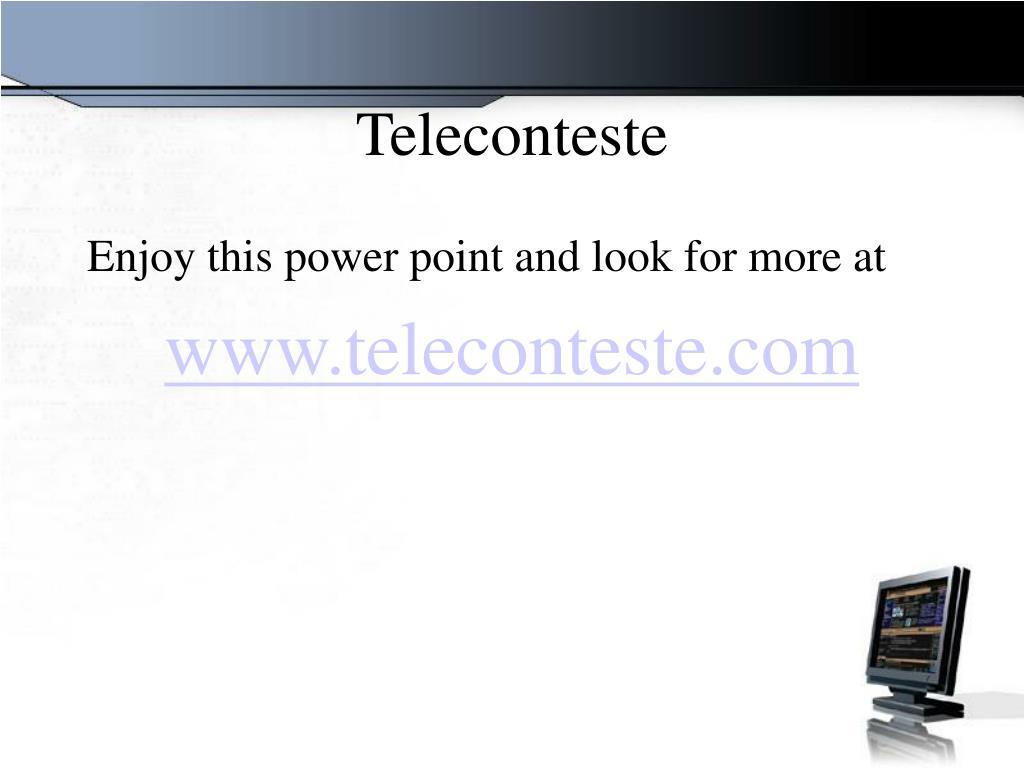 Teleconteste