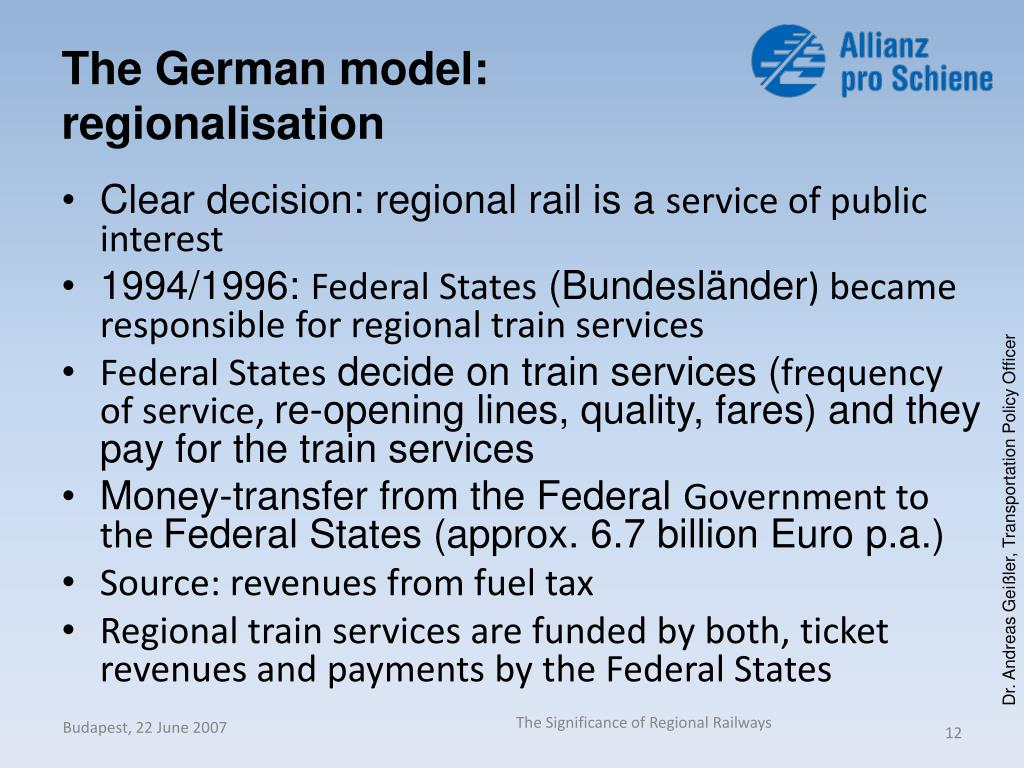 The German model: