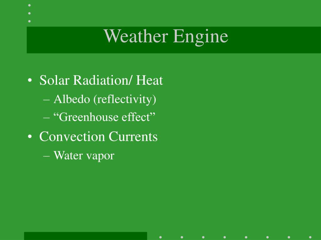 Weather Engine