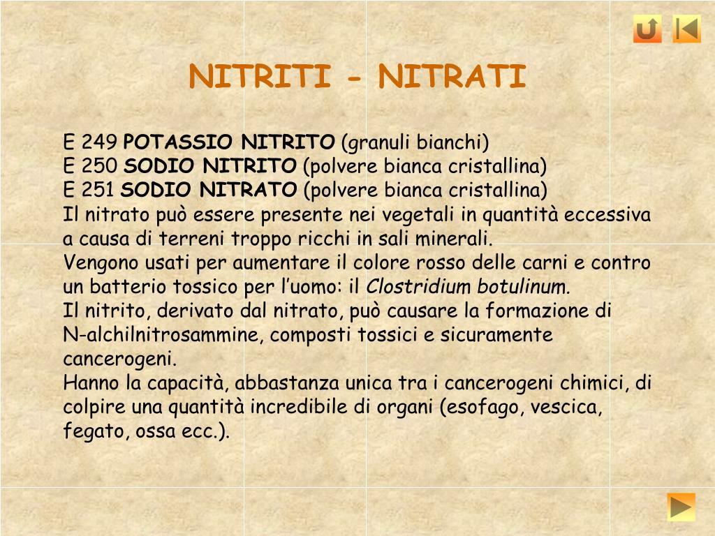 NITRITI - NITRATI