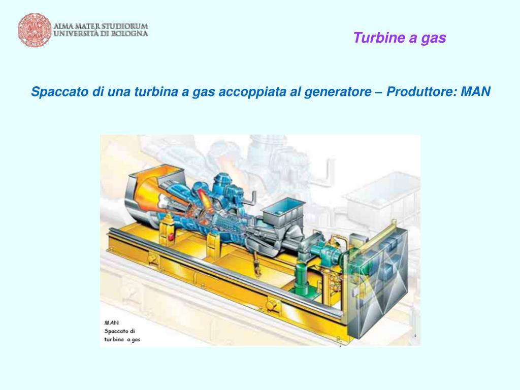 Turbine a gas