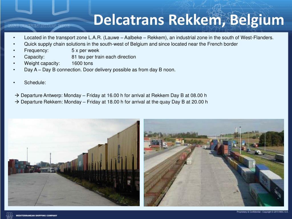 Delcatrans Rekkem, Belgium
