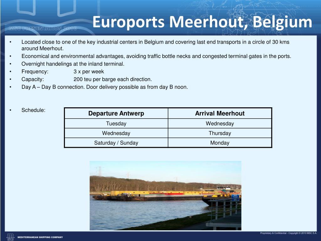 Euroports Meerhout, Belgium