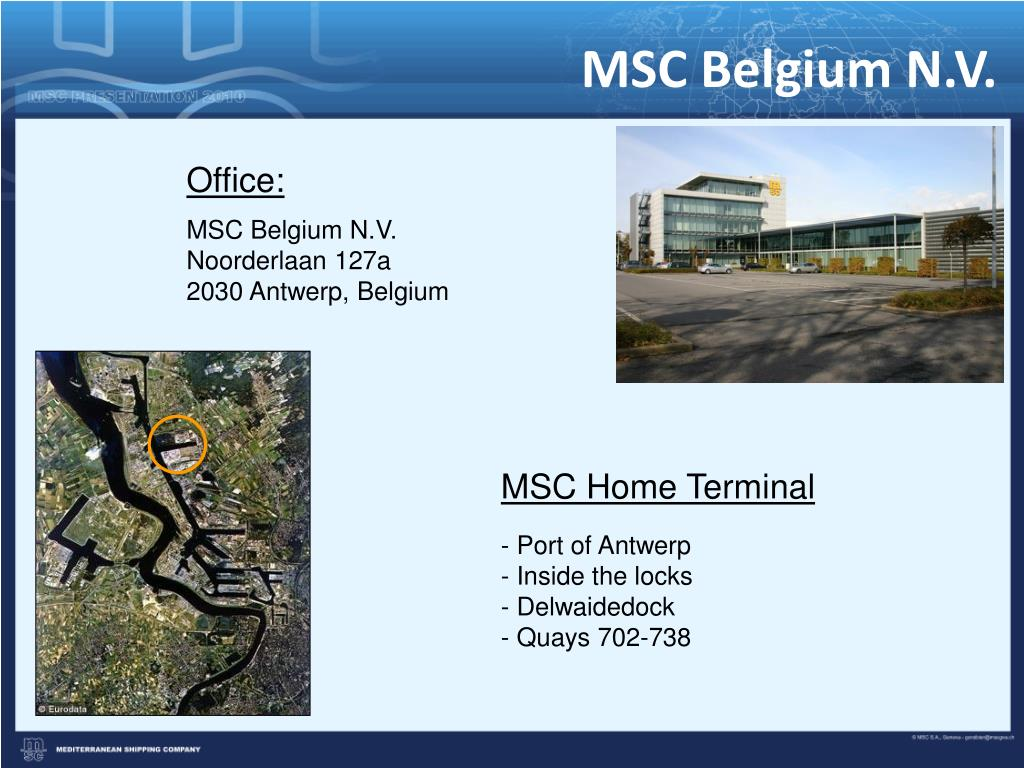 MSC Belgium N.V.