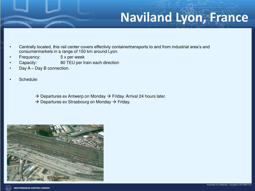Naviland Lyon, France