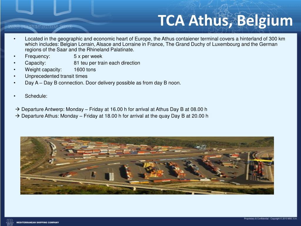 TCA Athus, Belgium
