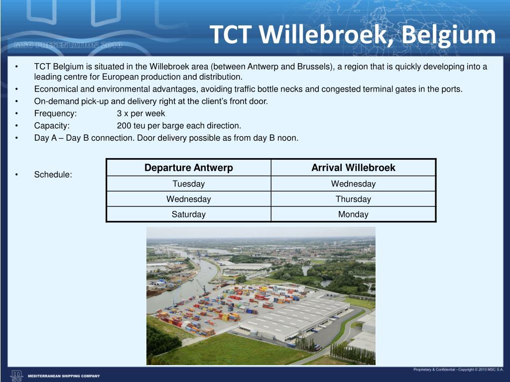 TCT Willebroek, Belgium