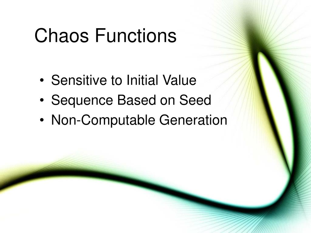 Chaos Functions