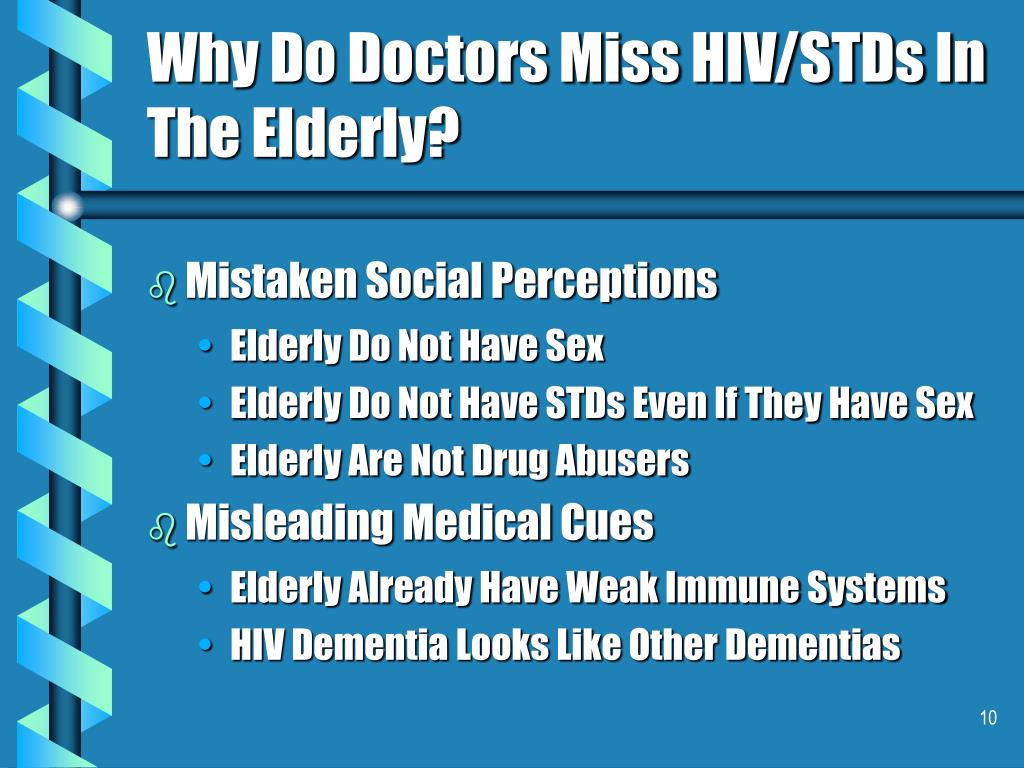 Why Do Doctors Miss HIV/STDs In The Elderly?