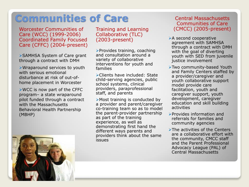 Communities of Care