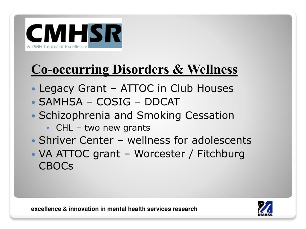 Co-occurring Disorders & Wellness