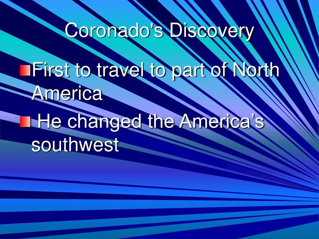 Coronado's Discovery