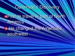 coronado s discovery