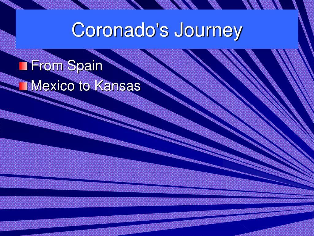 Coronado's Journey