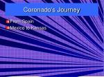 coronado s journey