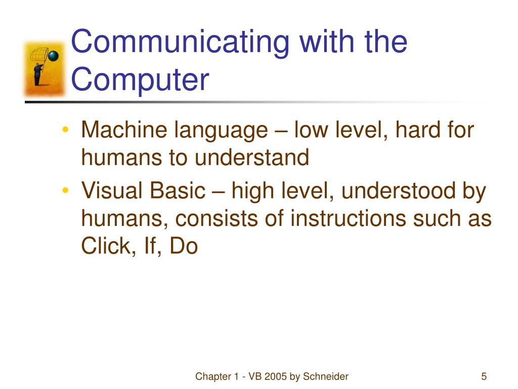 Communicating with the Computer
