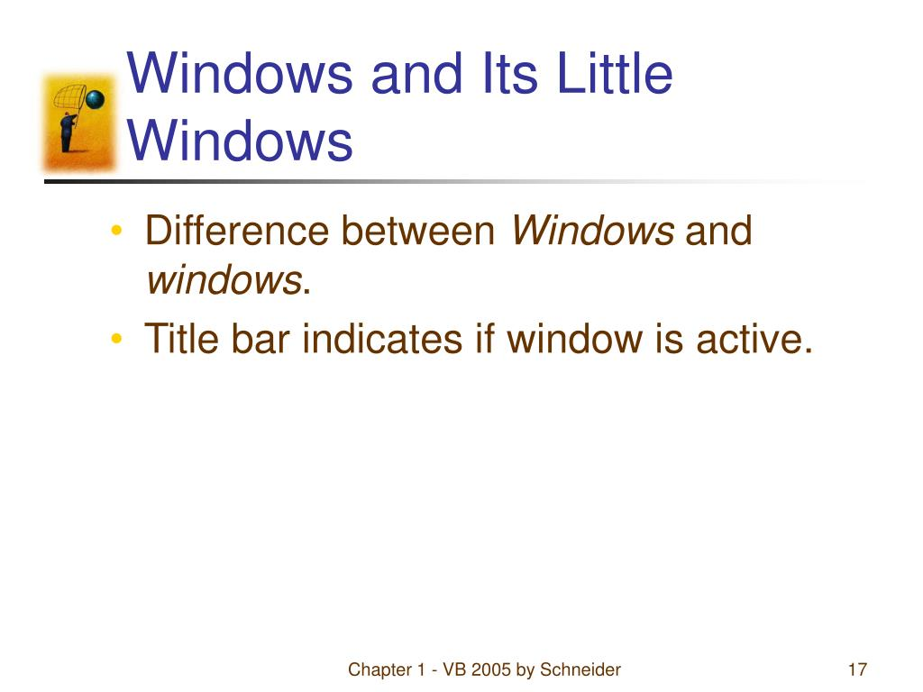 Windows and Its Little Windows