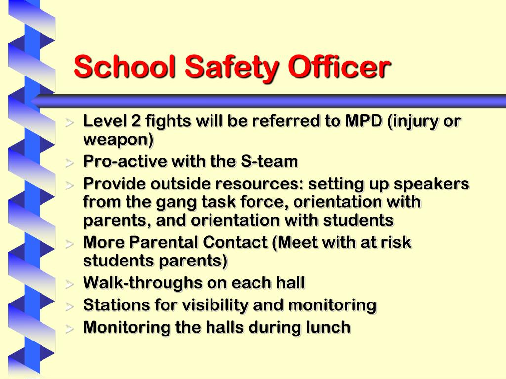 School Safety Officer