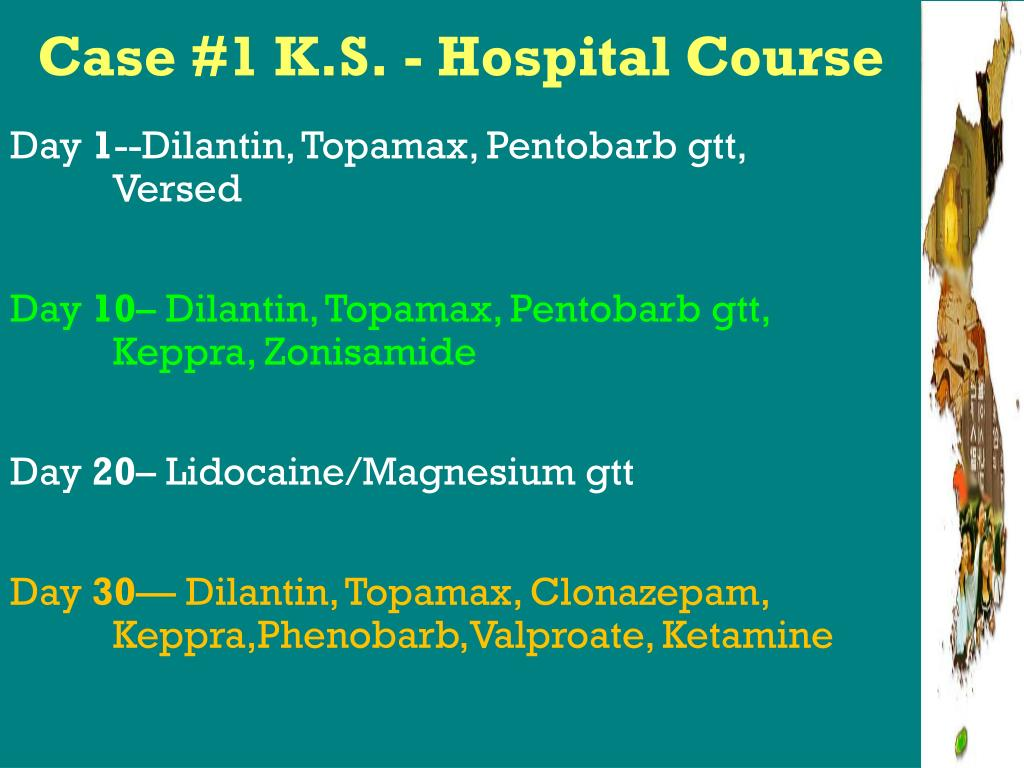 Case #1 K.S. - Hospital Course