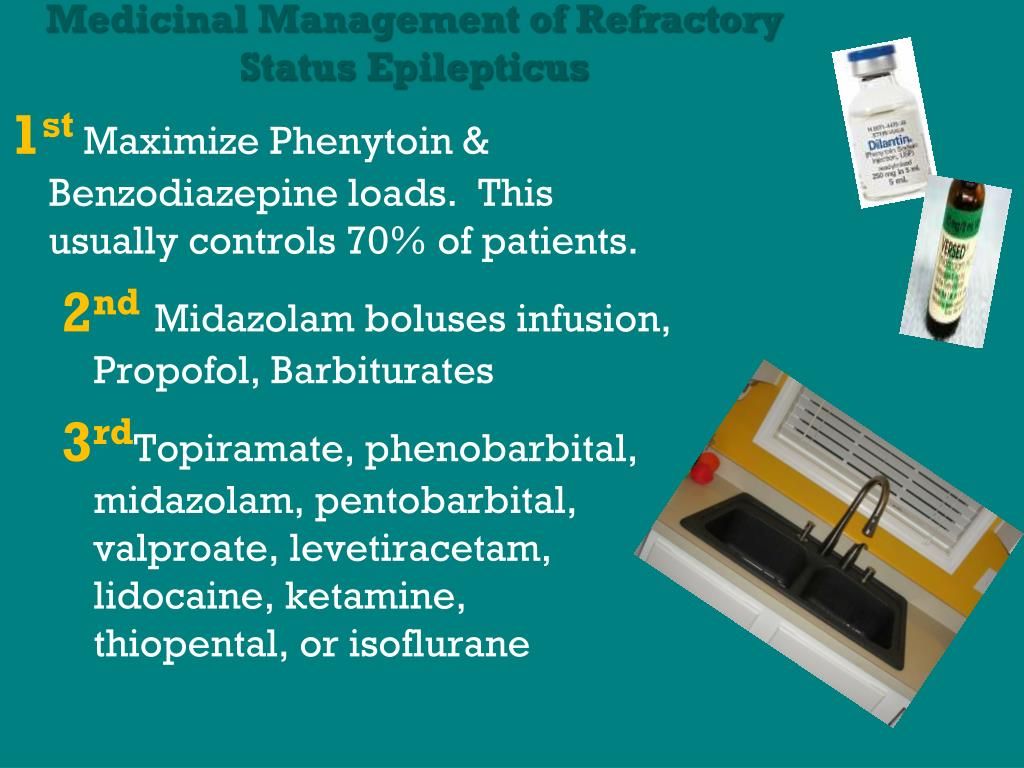 Medicinal Management of Refractory Status