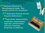 medicinal management of refractory status epilepticus