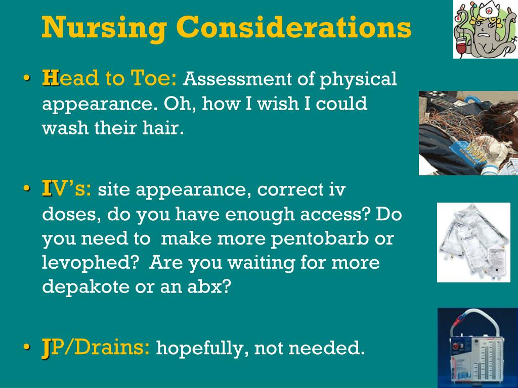 Nursing Considerations