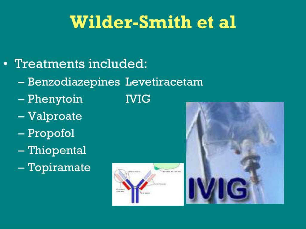 Wilder-Smith et al