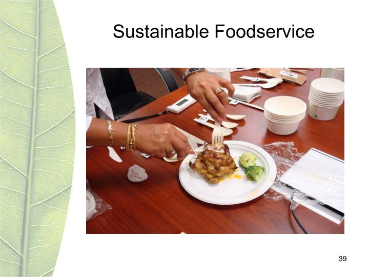 Sustainable Foodservice