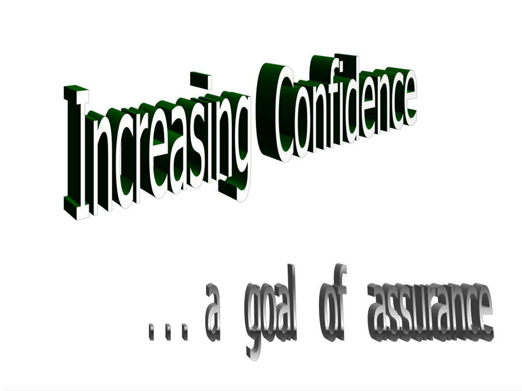 Increasing  Confidence
