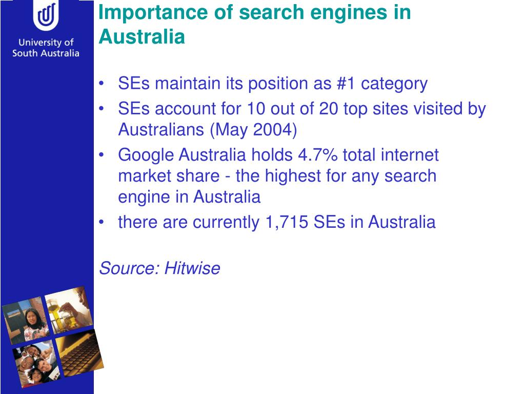 Importance of search engines in Australia