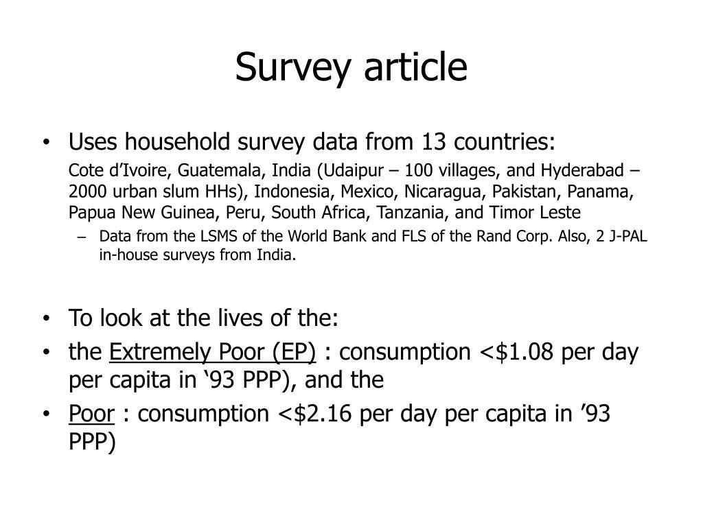 Survey article