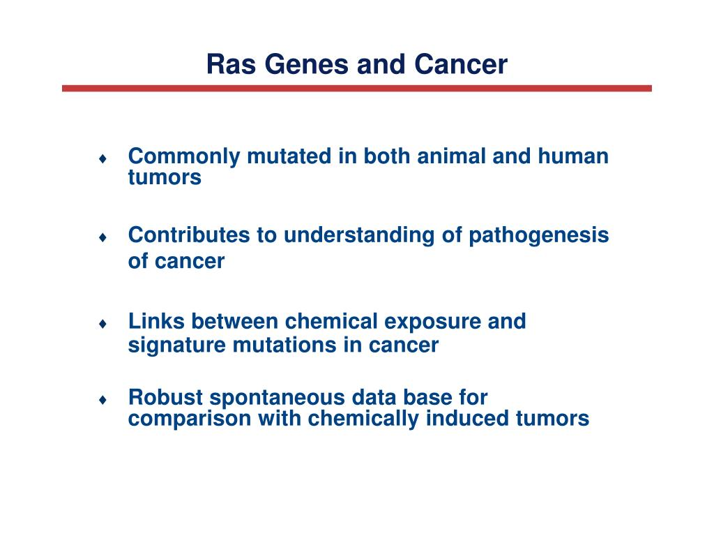 Ras Genes and Cancer