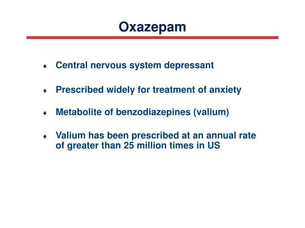 Oxazepam