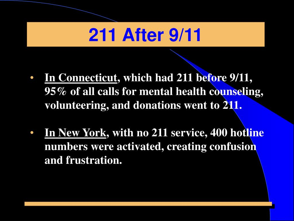 211 After 9/11