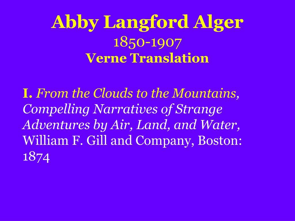 Abby Langford Alger