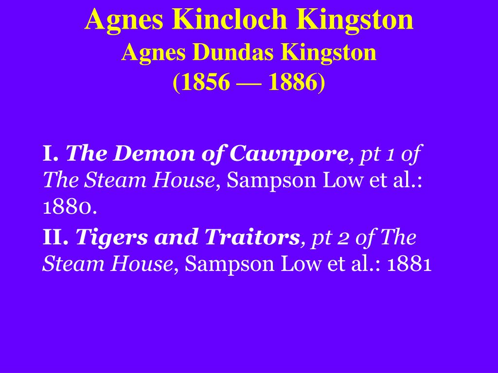 Agnes Kincloch Kingston