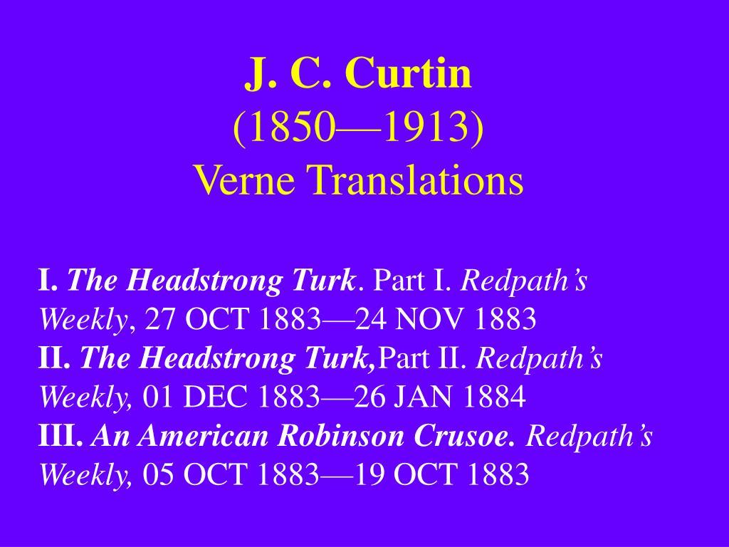 J. C. Curtin