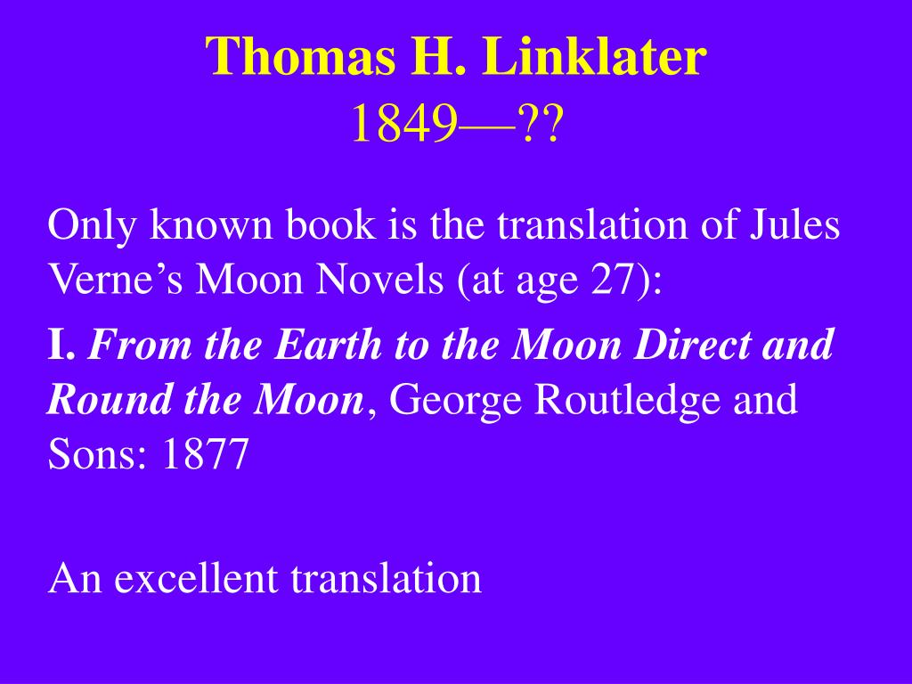 Thomas H. Linklater