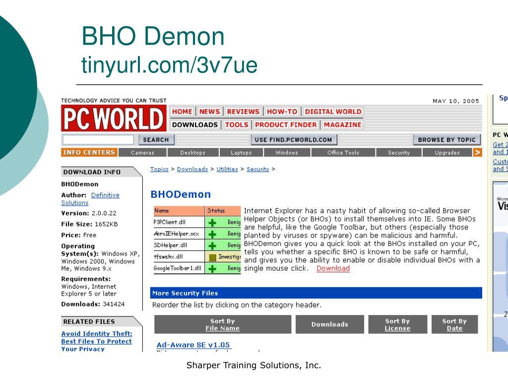 BHO Demon