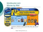 blockbuster com movies by mail