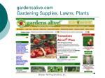 gardensalive com gardening supplies lawns plants