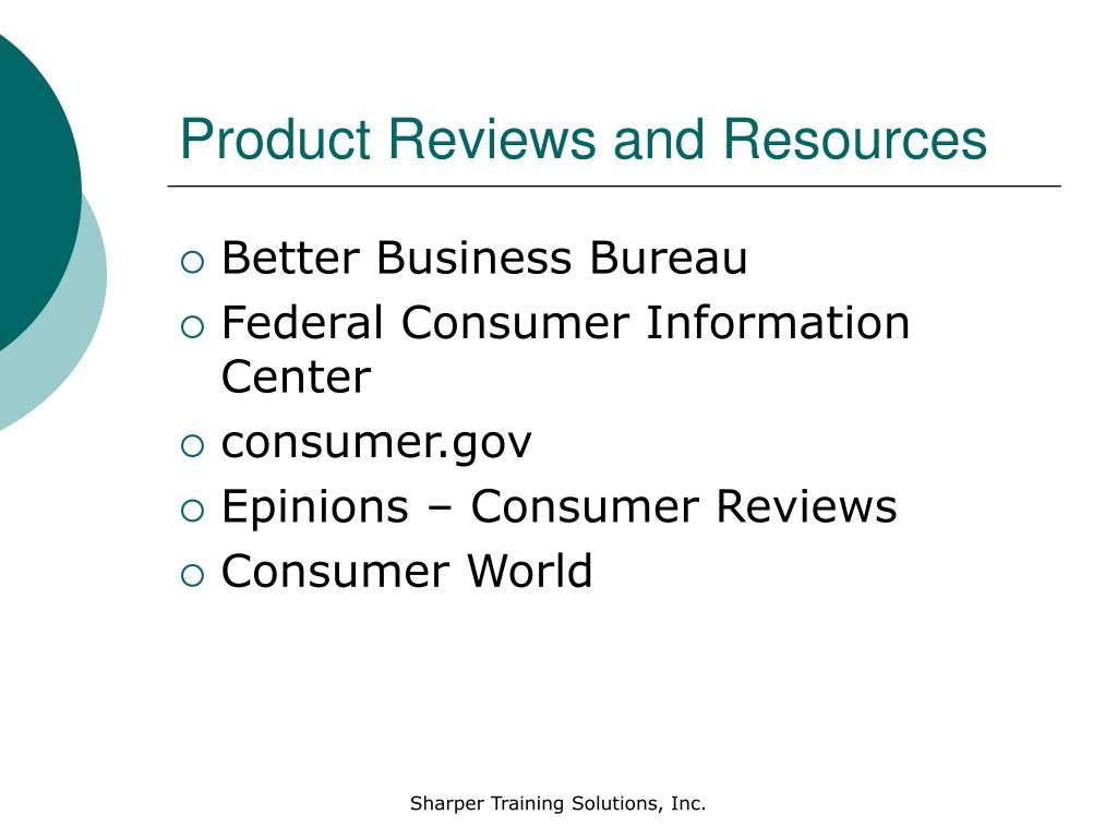 Product Reviews and Resources